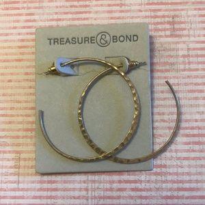 3/$20 NWT Nordstrom Treasure & Bond Hoop Earrings